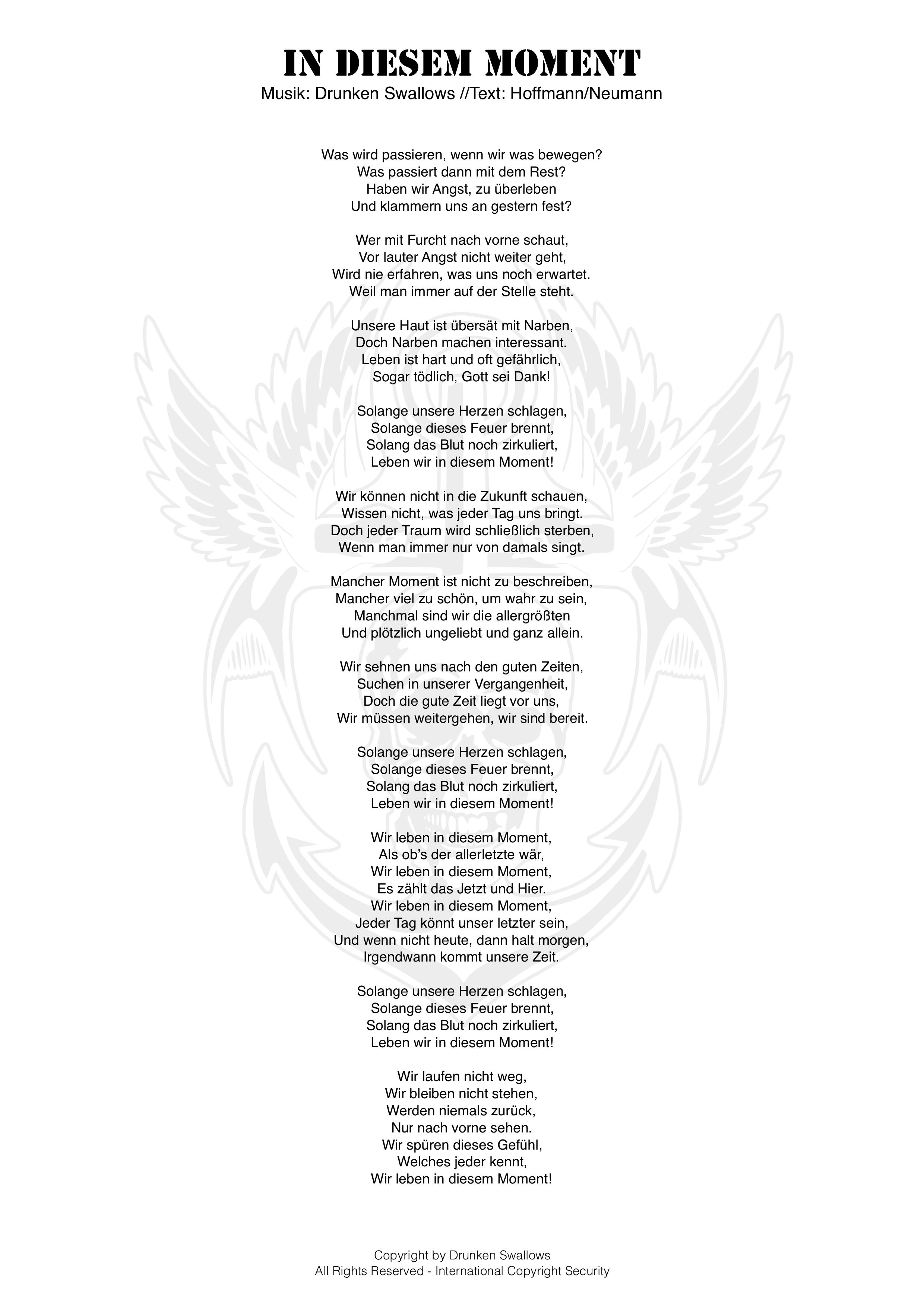 Liedtexte über das Gefühl allein